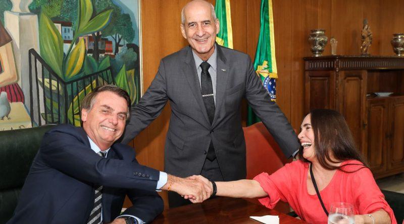 Regina Duarte assume Secretaria de Cultura depois do carnaval, diz ministro do Turismo